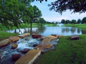 water feature in fairview texas