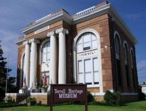 heritage-museum in terrell, Texas