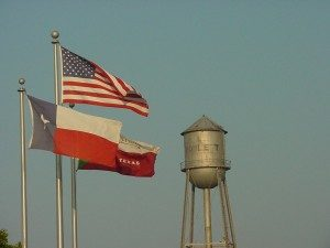 Rowlett Texas water tower